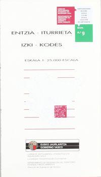 (MAPA) ENTZIA - ITURRIETA - IZKI - KODEZ 9. ZKA.