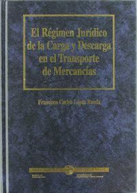 Regimen Juridico De La Carga Y Descarga En El Transporte De . .. - Francisco Carlos Lopez Rueda