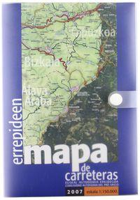 ERREPIDEEN MAPA-EUSKAL AUTONOMIA ERKIDEGOA, 2007 E 1: 50000