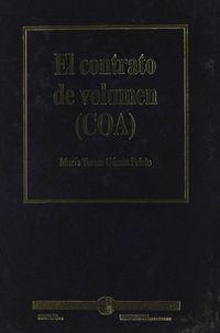 CONTRATO DE VOLUMEN, EL (COA)