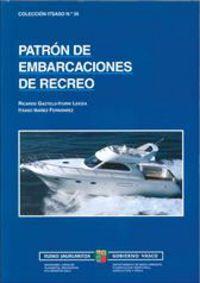 PER - PATRON DE EMBARCACIONES DE RECREO