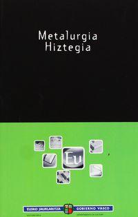 Metalurgia Hiztegia - Batzuk