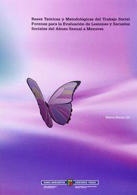 BASES TEORICAS Y METODOLOGICAS DEL TRABAJO SOCIAL FORENSE PARA LA EVALUACION DE LESIONES Y SECUELAS SOCIALES DEL ABUSO SEXUAL A MENORES