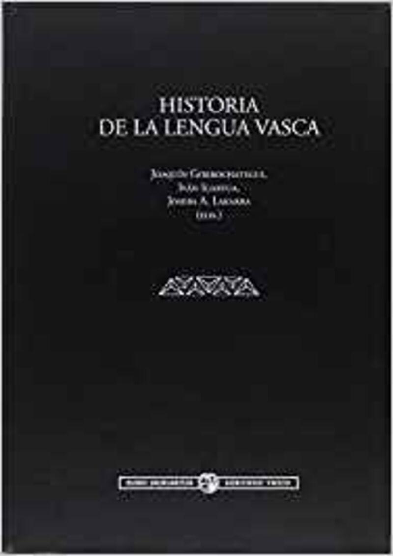 HISTORIA DE LA LENGUA VASCA