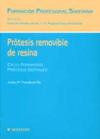 PROTESIS REMOVIBLE DE RESINA - FORMACION PROFESIONAL SANITARIA