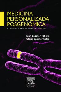 Medicina Personalizada Posgenomica - J.  Sabater Tobella  /  G.  Sabater Sales