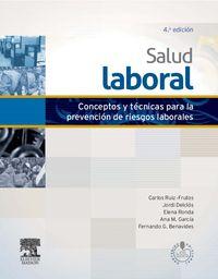 (4ª Ed. )  Salud Laboral (+acceso Online) - C. Ruiz Frutos