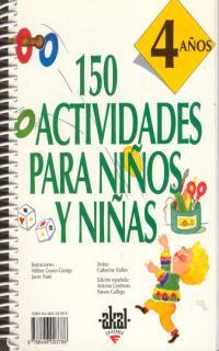 150 Actividades Para Niños Y Niñas (4 Años) - Catherine Vialles