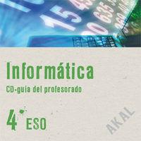 Eso 4 - Informatica (guia Cd) - Aa. Vv.