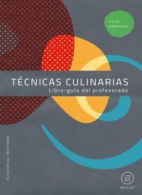 Gm - Tecnicas Culinarias Guia (+cd) - Aa. Vv.