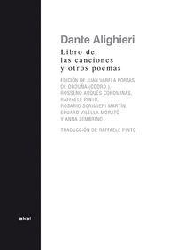 El libro de las canciones y otras rimas - Dante Alighieri