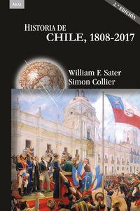 (2 ED) HISTORIA DE CHILE, 1808-2017