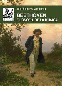 BEETHOVEN - FILOSOFIA DE LA MUSICA