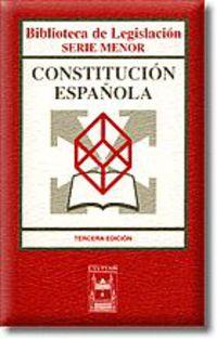 (3 ED) CONSTITUCION ESPAÑOLA, LA
