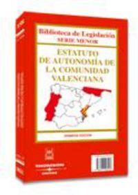ESTATUTO DE AUTONOMIA DE LA COMUNIDAD VALENCIANA