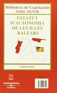 ESTATUTO DE AUTONOMIA DE LAS ILLES BALEARS