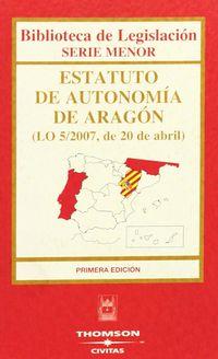 ESTATUTO DE AUTONOMIA DE ARAGON