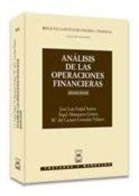 Analisis De Las Operaciones Financieras - Core Syllabus - Maria Gonzalez Velasco