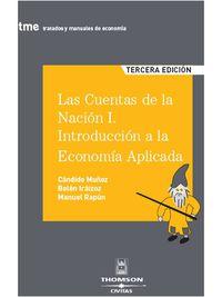 Las I  cuentas de la nacion (3ª ed. ) - Candido Muñoz Cidad