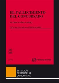 El fallecimiento del concursado - Fatima Yañez Vivero