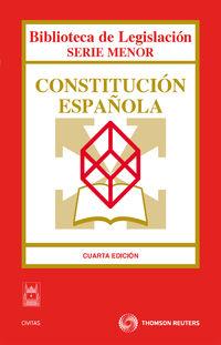 (4 ED) CONSTITUCION ESPAÑOLA