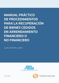 MANUAL PRACTICO DE PROCEDIMIENTOS PARA LA RECUPERACION DE BIENES