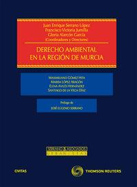 DERECHO AMBIENTAL DE LA REGION DE MURCIA