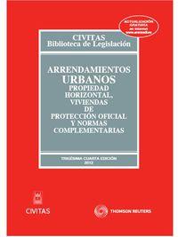 (34ª ED) ARRENDAMIENTOS URBANOS, PROPIEDAD HORIZONTAL, VPO