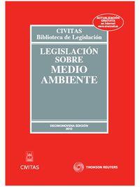 (19ª Ed)  Legislacion Sobre Medio Ambiente - Aa. Vv.