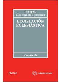 (25ª ED) LEGISLACION ECLESIASTICA