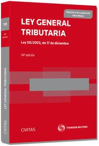 (14 ED) LEY GENERAL TRIBUTARIA