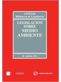 (20ª Ed. )  Legislacion Sobre Medio Ambiente (+proview) - Aa. Vv.