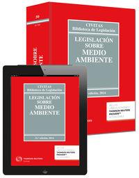 (21ª Ed. )  Legislacion Sobre Medio Ambiente (+proview) - Aa. Vv.