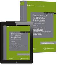 (2ª Ed)  Fundamentos De Derecho Empresarial Iv (+proview) - Rafael  Sebastian Quetglas  /  Abel B.  Veiga Copo