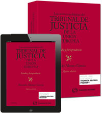 Las  (5ª ed. )  sentencias basicas del tribunal de justicia de la union europea (+proview) - Ricardo Alonso Garcia