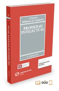 (21 Ed) Propiedad Intelectual (duo) - Antonio Delgado Porras
