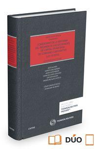 COMENTARIO DE LA REFORMA DEL REGIMEN DE LAS SOCIEDADES DE CAPITAL EN MATERIA DE GOBIERNO CORPORATIVO (+PROVIEW)