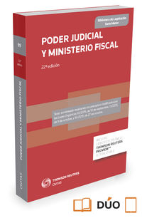 (22 Ed) Poder Judicial Y Ministerio Fiscal (duo) - Aa. Vv.