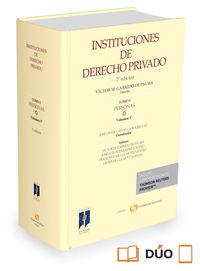 (2 ed) instituciones de derecho privado - tomo i - personas iii (duo) - Jose Javier Castiella