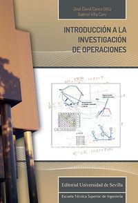 INTRODUCCION A LA INVESTIGACION DE OPERACIONES