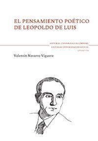 PENSAMIENTO POETICO DE LEOPOLDO DE LUIS, EL