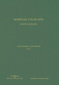 HOMENAJE A PILAR LEON - SCRIPTA MINORA