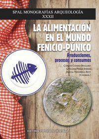 ALIMENTACION EN EL MUNDO FENICIO-PUNICO, LA - PRODUCCIONES, PROCESOS Y CONSUMOS