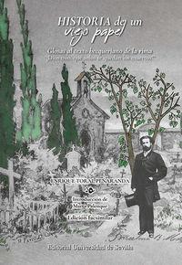 HISTORIA DE UN VIEJO PAPEL - GLOSAS AL TEXTO BECQUERIANO DE LA RIMA - ¡DIOS MIO, QUE SOLOS SE QUEDAN LOS MUERTOS!