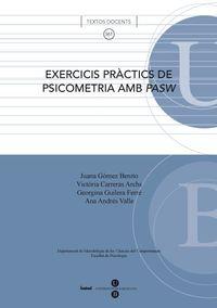 EXERCICIS PRACTICS DE PSICOMETRIA AMB PASW