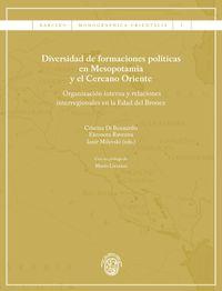 Diversidad De Formaciones Politicas En Mesopotamia Y El Cercano Oriente - Aa. Vv.