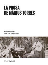 PROSA DE MARIUS TORRES, LA