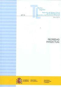 PROPIEDAD INTELECTUAL 2019 - SEPARATA DEL BOLETIN OFICIAL DE LOS MINISTERIOS DE HACIENDA