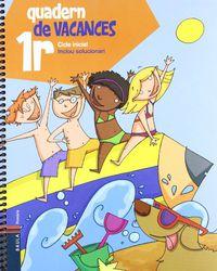 EP 1 - QUADERN DE VACANCES - SOLUCIONARI
