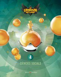 EP 4 - CIENCIES SOCIALS (CAT) (+LICENCIA DIGITAL)